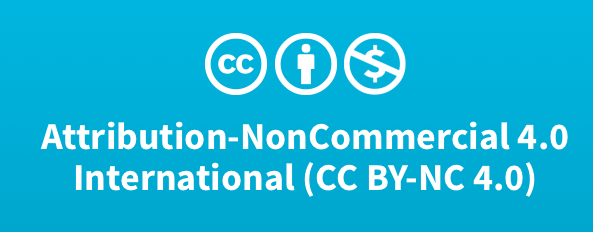 Attribution-NonCommercial 4.0 International. (CC BY-NC 4.0)